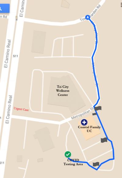 CFUC_COVID Drive Thru Map - Image